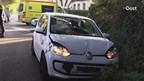 Bestuurder uit auto geknipt in Enschede