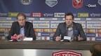 De persconferentie van Van den Belt