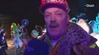 Video: polonaise IJsbeeldenfestival; 'dit kan alleen in Sassendonk'