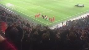 Feest bij supporters FC Twente