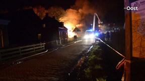 Uitslaande brand in Zuidveen