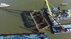 IJsselkogge helemaal boven water getakeld