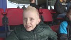 Video: kinderen Morgenster in stadion PEC Zwolle