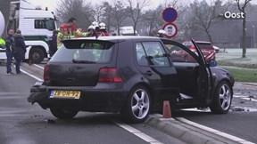Ongeluk op de N34