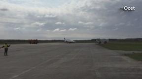 Zakenvliegtuig landt op Twente Airport