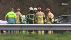File op A35 bij Enschede na ongeluk met meerdere auto's