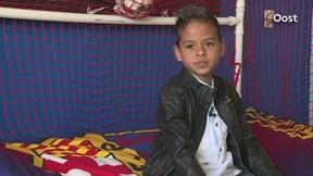 Reportage van het 7-jarige talentje Giovanny uit Glanerbrug