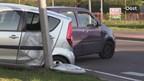 Twee auto's betrokken bij het ongeluk in Oldenzaal