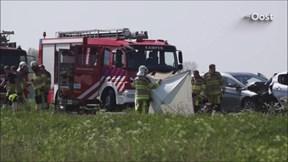 Ongeluk op de N50 bij Kampen