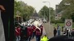 Samenvatting van de huldiging van Go Ahead Eagles en Heracles Almelo
