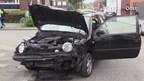 Ongeluk op kruising in Enschede