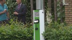 Elektrische auto laden op zonne-energie in Zwolle