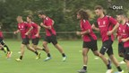 Eerste training Go Ahead Eagles