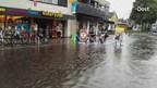 Ondergelopen straten in Rijssen
