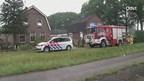 Blikseminslag bij woning in Nijverdal