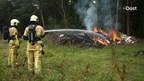 Opnieuw brand op perceel naast bos Geukersdijk Haaksbergen