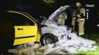 Autobrand in Vroomshoop