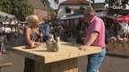 Trotse Lossenaar Jan Riesewijk schuift aan bij Esther