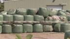Rechtszaak over balen afval in Hardenberg