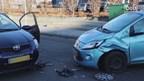 Auto's flink beschadigd bij aanrijding in Enschede