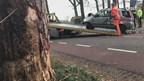 Ongeluk op Beuningerstraat in De Lutte
