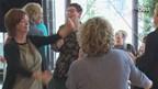 Personeel IJsselheem protesteert met flashmob