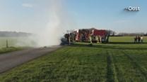 Autobrand in buitengebied Deurningen