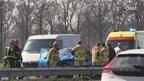 Ongeluk op de A1 bij Enter