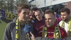De Belgische voetbalfans