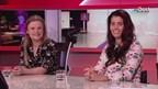 Mirande Bakker en Melissa de Lat in Overijssel Vandaag