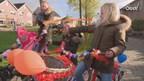 Videoreportage kinderen op versierde fiets, step en skelter door IJsselmuiden