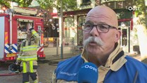 Brand in historisch centrum van Deventer