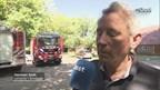 Bosbrand bij camping Bornerbroek
