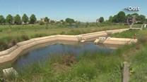 Wildwaterbaan Hardenberg staat droog