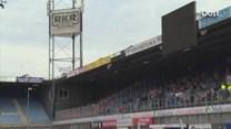 Rampoefening in stadion PEC Zwolle