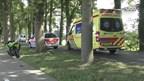 Op de Heerenweg in IJhorst is een motorrijder gewond geraakt