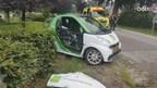 Auto's botsen in Bornerbroek