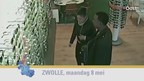 Man en vrouw stelen Ray-Ban zonnebrillen bij Pearle in Zwolle