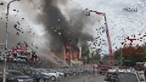 Grote brand in Albergen