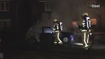 Auto uitgebrand in Glanerbrug