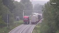File na ongeluk op N35 bij Enschede