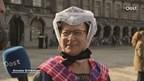 De dames uit Staphorst zijn traditiegetrouw ook in Den Haag op Prinsjesdag