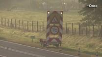 De N35 tussen Gronau en Enschede is naar verwachting tot half tien afgesloten