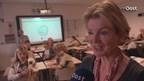 Schoolkinderen Den Ham freuen sich met Duitse les