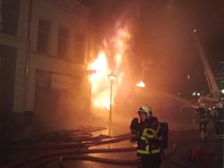 Brand Kampen. Foto: @xStephanieew