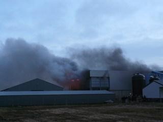 Grote brand bij Stramproy Green in Steenwijk