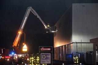 Grote brand Steenwijk. Foto: Persbureau Wever