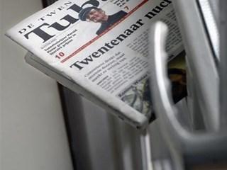 Kranten samen bezorgd