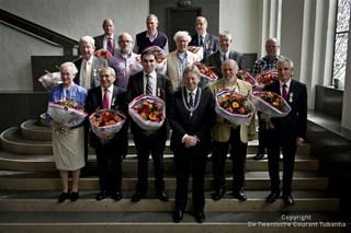 De gedecoreerden in Enschede