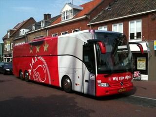 Spelersbus Ajax